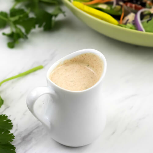 Homemade Southwest Spicy Ranch Dressing