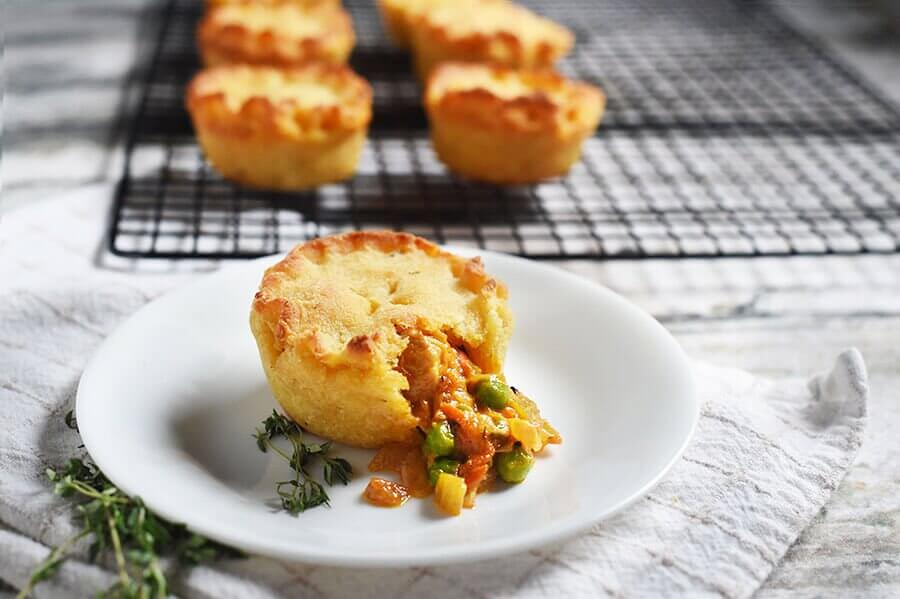 40 Make Ahead Keto Meals » Chicken Pot Pies