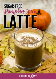 Pumpkin Spice Latte—that actually has pumpkin in it (sugar-free)