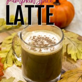 Pumpkin Spice Latte—that actually has pumpkin in it (sugar-free)