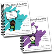 Write Through the Bible (Intermediate)