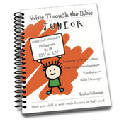 Write Through the Bible (Junior)