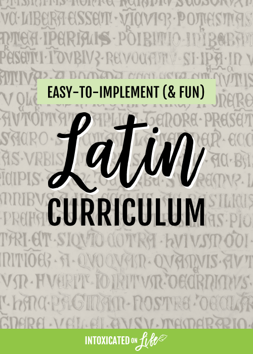 Easy to Use Latin Curriculum