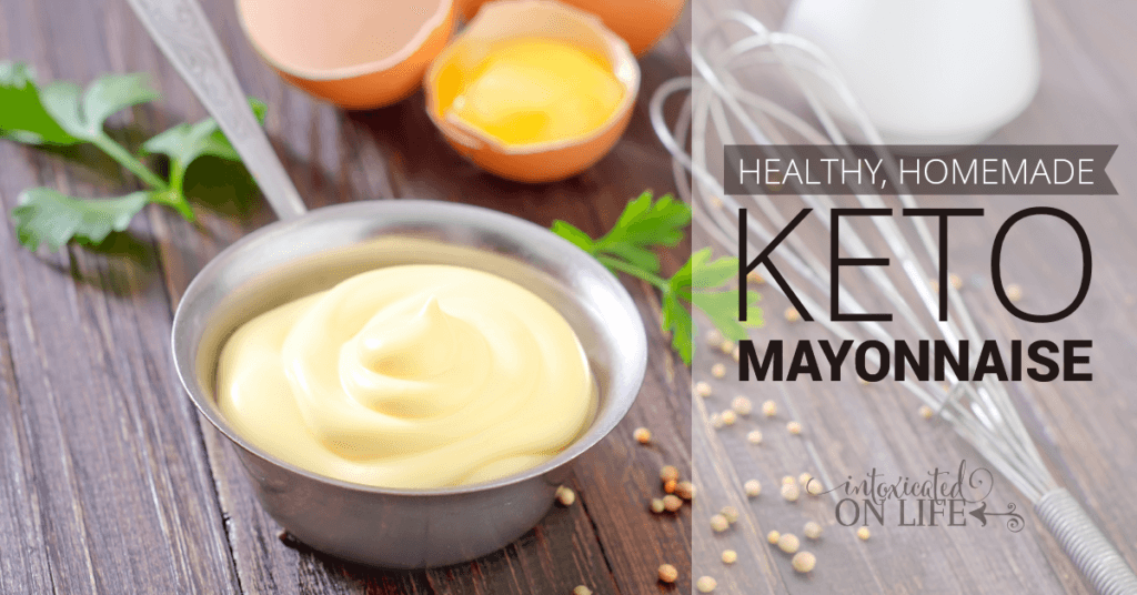 Healthy Homemade Keto Mayonnaise FB