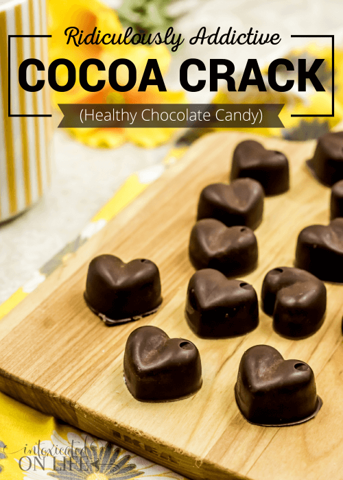 Ridiculously Addictive Cocoa Crack (Healthy Chocolate Candy)
