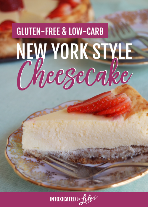 Gluten Free Low Carb New York Style Cheesecake