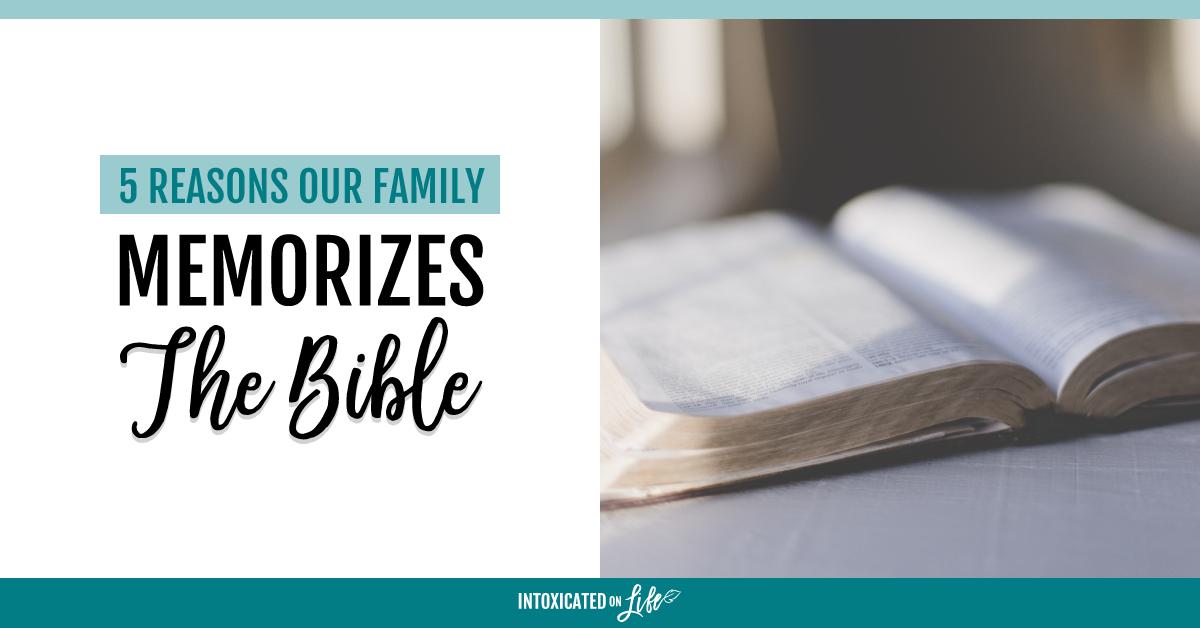 Memorizing the Bible as a Family