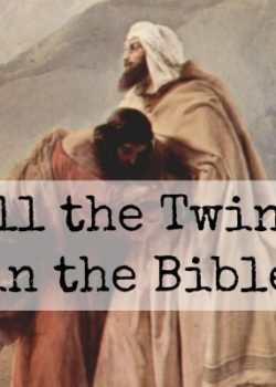 All the Twins Mentioned in the Bible