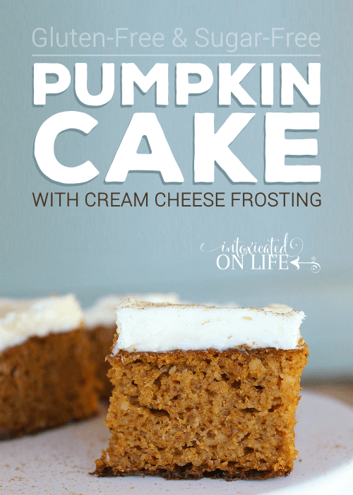 Gluten Free Pumpkin Cake with Cream Cheese Frosting