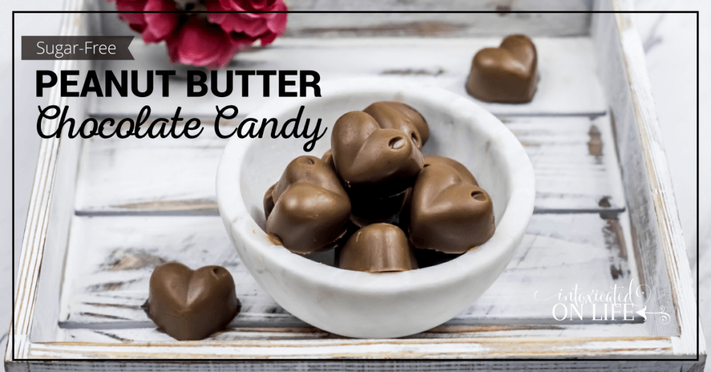 Sugar Free Peanut Butter Chocolate Candy FB