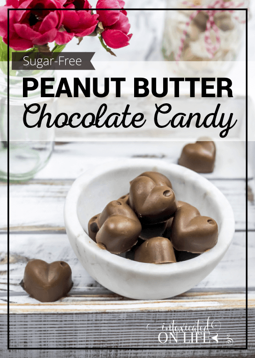 Sugar Free Peanut Butter Chocolate Candy