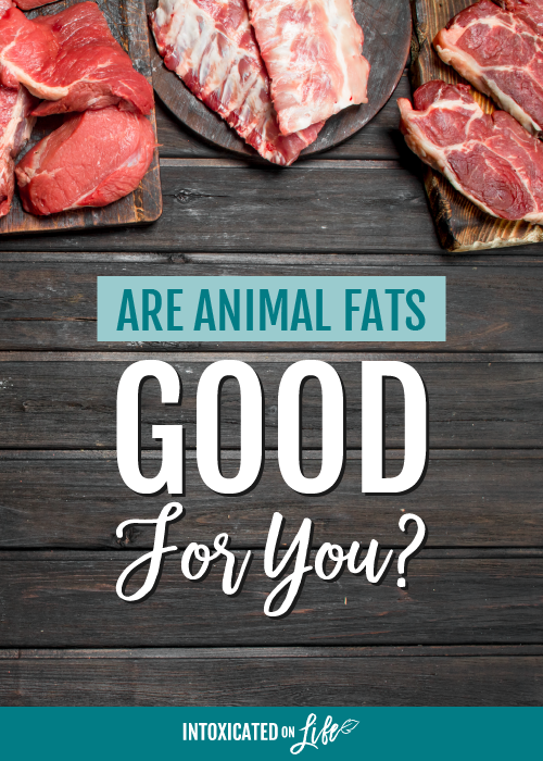 Are animal fats good for you yes they are