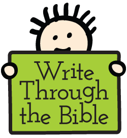 copywork for Bible memorization