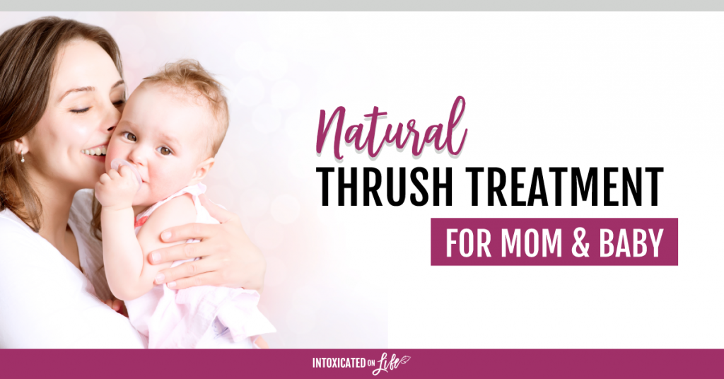 Natural Thrush Treatment For Mom And Baby FB