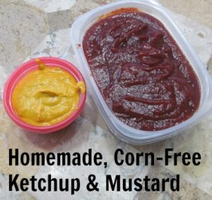 It's not a pretty picture, but it does prove that I did indeed make homemade ketchup and mustard! You can too. Purchase the Ultimate Homemakers eBook Bundle and get all sorts of cookbooks and goodies for $29.97.