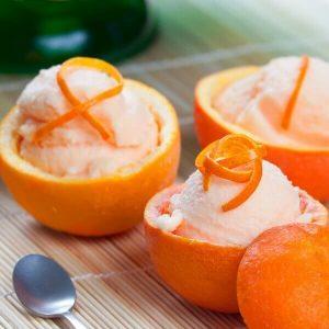 Sugar-Free Orange Creamsicle Ice Cream
