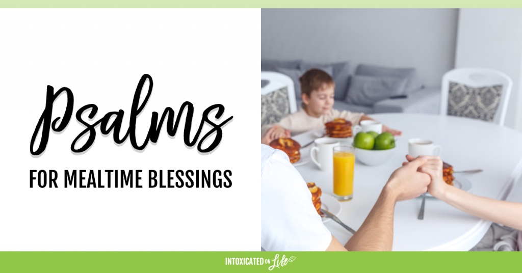 Psalms For Mealtime Blessings FB
