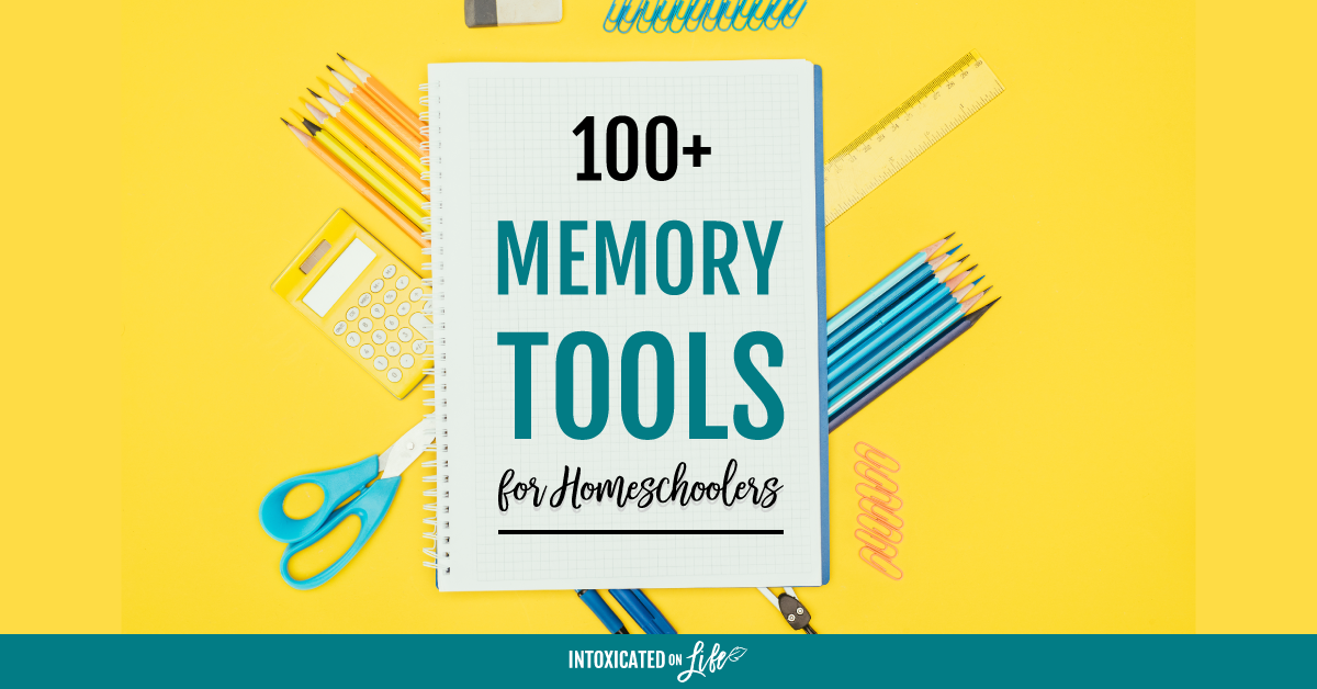 100+ Memory Tools For Homeschoolers -FB
