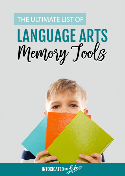 The Ultimate List Of Language Arts Memory Tools