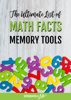 The Ultimate List Of Math Facts Memory Tools