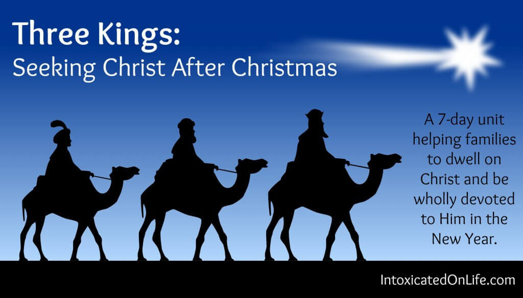 Three Kings Seeking Christ After Christmas: wide photo