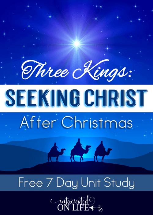 Three Kings Seeking Christ After Christmas