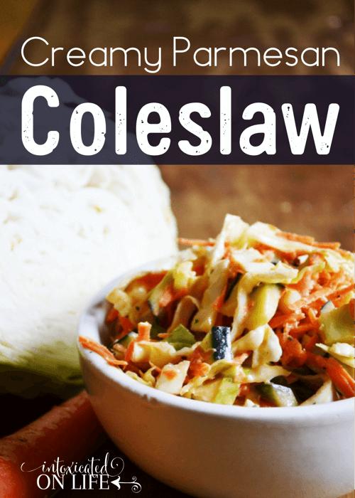 Creamy Parmesan Coleslaw