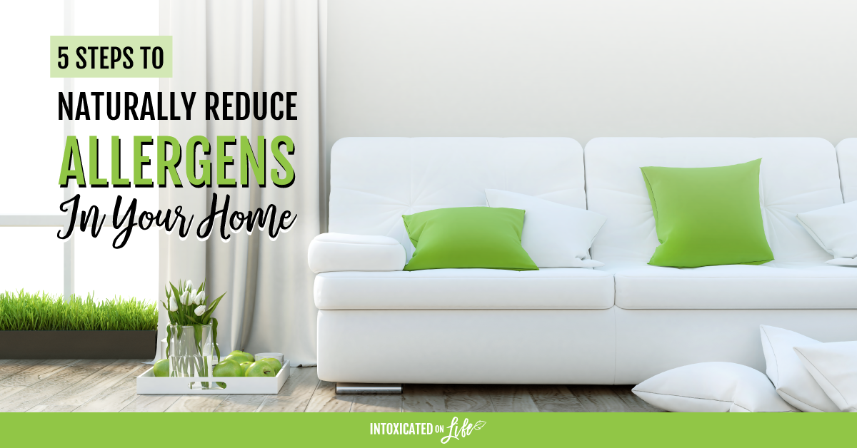 Naturally Reducing Allergens In Your Home