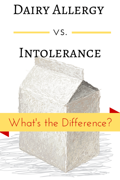 Dairy Allergy vs. Intolerance. What's the Difference? How do you deal with each of them? @ IntoxicatedOnLife.com #DairyAllergy #DairyIntolerance