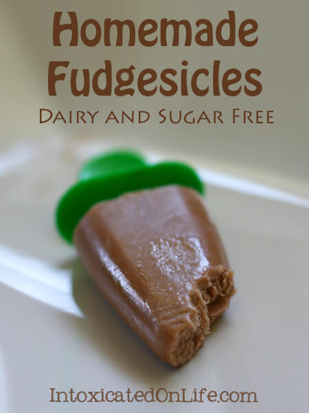 Homemade Fudgesicle Recipe - Dairy and Sugar Free
