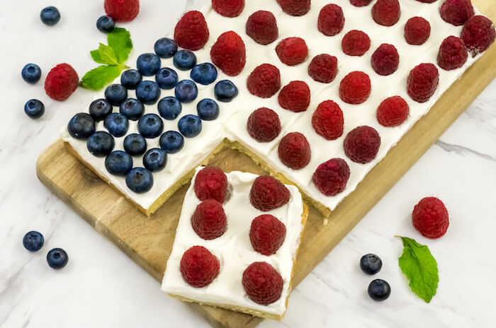 Red White and Blue Fruit Tart Final 7