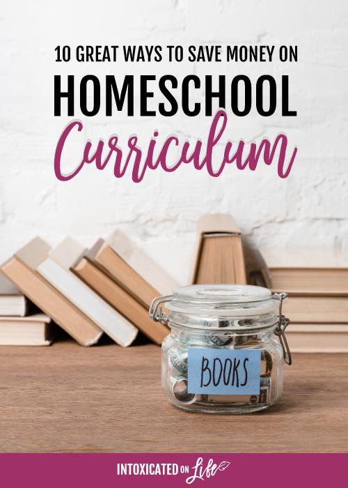 10 ways to save money on homeschool curriculum