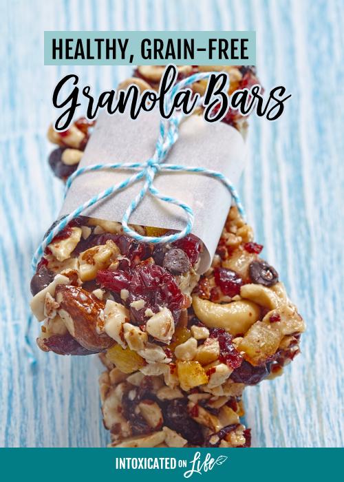 Healthy Grain Free Granola Bars