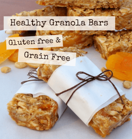 Learn how to make Delicious, Healthy Grain Free Granola Bars. You're going to love these! @ IntoxicatedOnLife.com #GlutenFree #GrainFree #HealthTreats