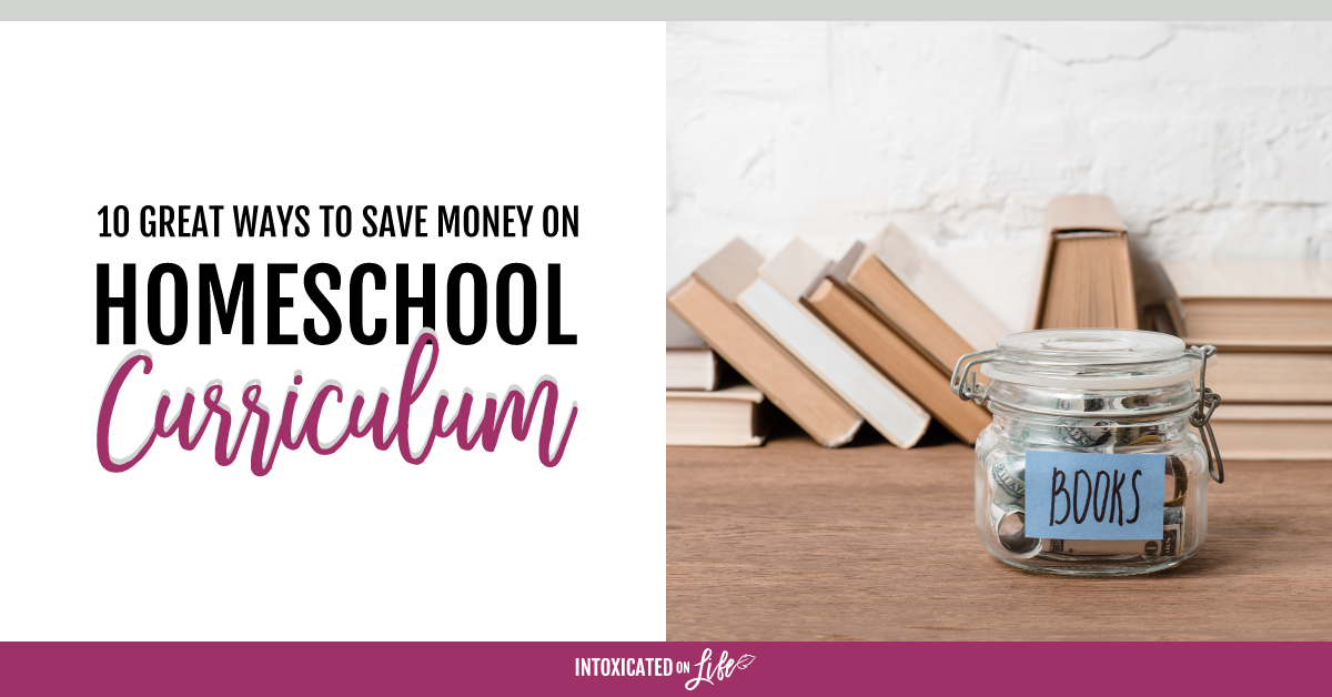 Ways to save money on homeschool supplies