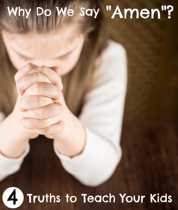 Why Do We Say Amen