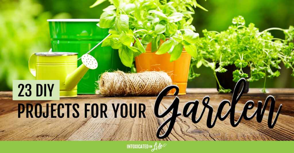 23 DIY Projects For Your Garden FB