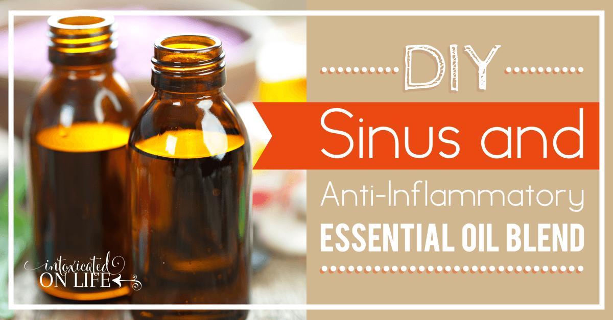 {DIY} Sinus and Immune Support Essential Oil Blend