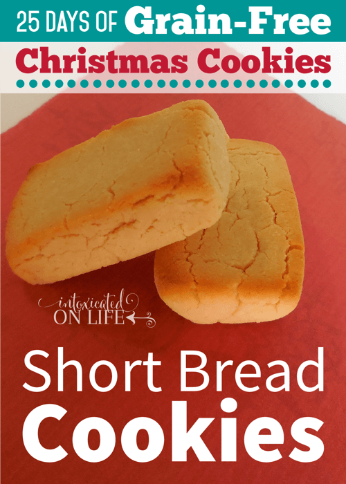 If you are looking for a melt-in-your-mouth traditional shortbread cookie that is also grain-free - this is it!