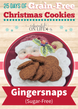 Grain-Free Gingersnaps