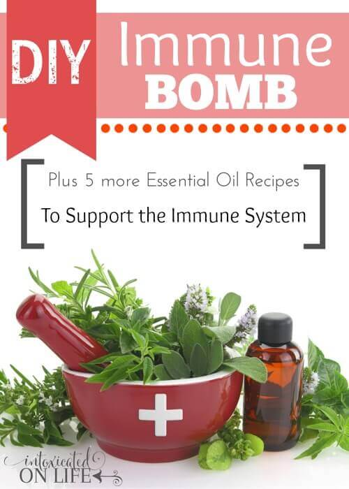 DIY Immune Bomb Plus 5 More Essential Oil Recipes to Support the Immune System
