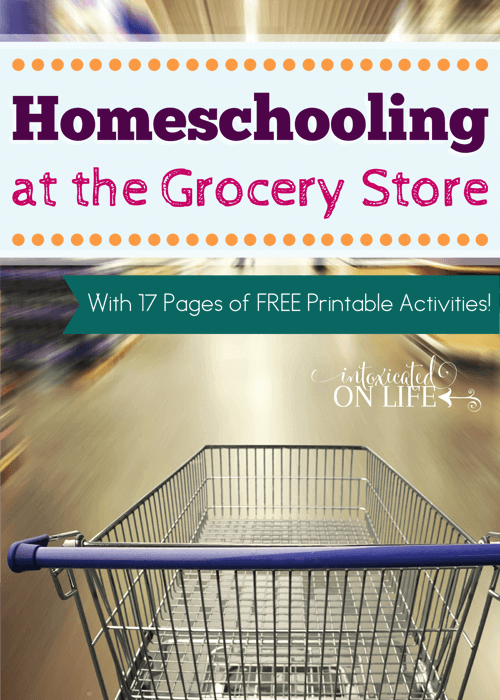 Grocery Shopping with Kids (and homeschooling)
