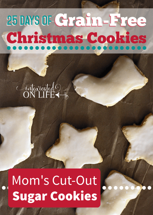Moms Cut-Out Sugar Cookies