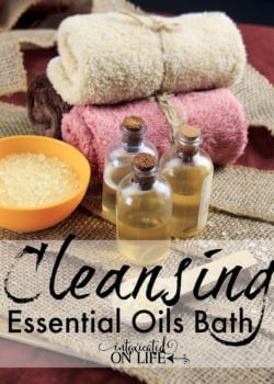 Cleansing Essential Oils Bath Gift