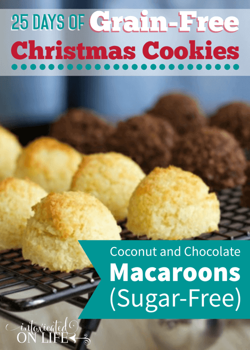 Sugar-Free, Grain-Free Coconut and Chocolate Macaroons