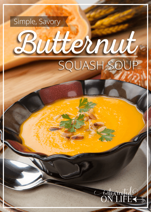Simple Savory Butternut Squash Soup