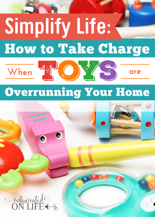How to take charge when toys are everywhere