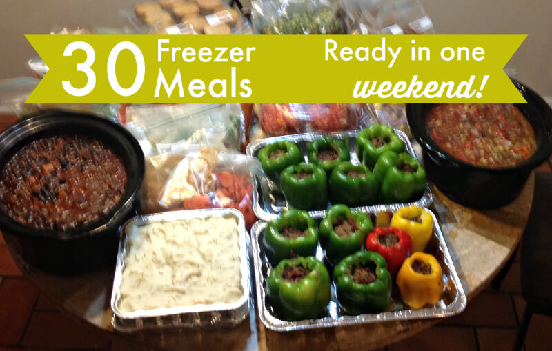 Please excuse my blurry iPhone picture. Don't these meals look AWESOME though?!