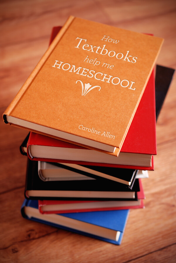 How Textbooks Help Me Homeschool