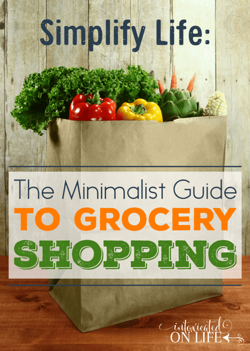Simplify Life: The Minimalist Guide to Grocery Shopping